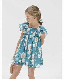GIRLS FLOWERS DRESS NANOS