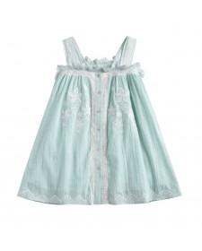 GIRL DRESS LOUISE MISHA LUCINDA ALMOND