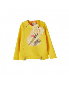 GIRL YELLOW SWEATSHIRT NANOS