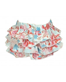 GIRL FLOWERS BLOOMER TUL Y POMPON