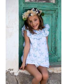 BABY GIRL DRESS STARS KIDS CHOCOLATE