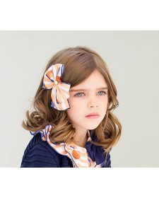 GIRL ORANGES HAIR CLIP KID´S CHOCOLATE