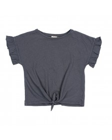 JANINED TIED T-SHIRT BUHO