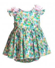 GIRL DRESS WITH KNICKERS LOLITTOS PALMERA