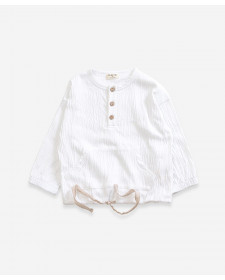 CAMISA JERSEY DE NIÑO PLAY UP BLANCO