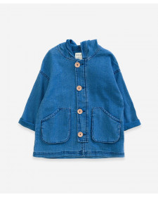 BOY COTTON COAT PLAY UP