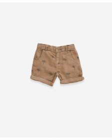 BOY BROWN SHORTS PLAY UP