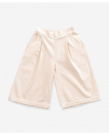 GIRL CREAM TROUSERS PLAY UP