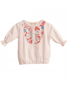 GIRL BLOUSE SPRING TUL Y POMPON