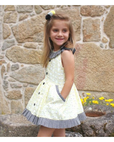 GIRL YELLOW DRESS LOLITTOS CALIMERO