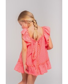 GIRLS DRESS AND BLOOMERS TUL Y POMPON