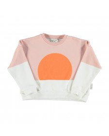 UNISEX SWEATSHIRT ORANGE SUN