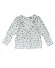 GIRL FLOWERS BLOUSE TOCOTO