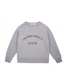 SUDADERA UNISEX THE NEW SOCIETY GRIS