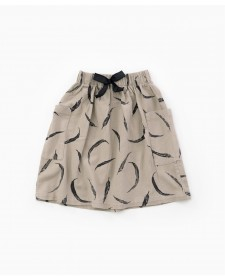 Cloth skirt with pockets PLAY UP