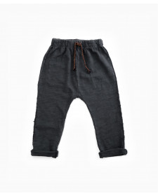 PANTALÓN JERSEY DE NIÑO PLAY UP GRIS