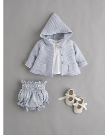 BABY BOY BLUE CARDIGAN NANOS