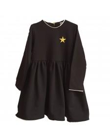 GIRLS BLACK DRESS MON PETIT BOMBON