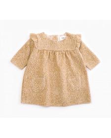 Jersey stitch dress with pattern PLAY UP