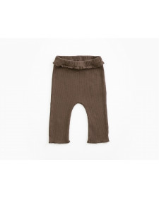 LEGGING ALGODON ORGANICO MARRON PLAY UP