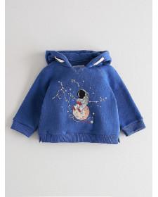 BABY BOY BLUE SWEATSHIRT NANOS