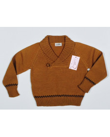 BOYS MUSTARD SWEATER
