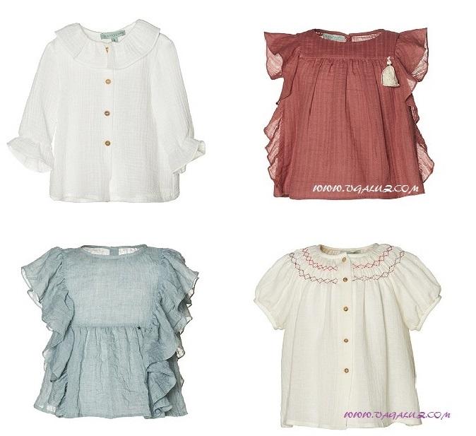 20f993f6f9bc Blusas de verano para niñas: un clásico siempre de moda
