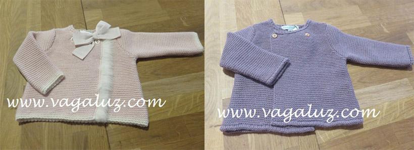 5f7c5ffbe Especial punto  jerséis y chaquetas para niños y bebés