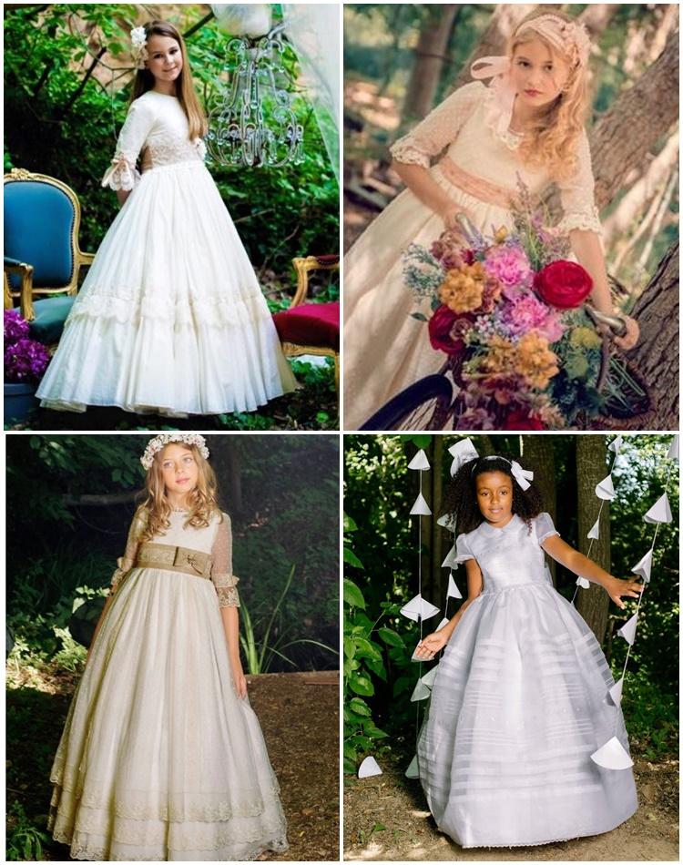 Vestidos comunion nina diferentes