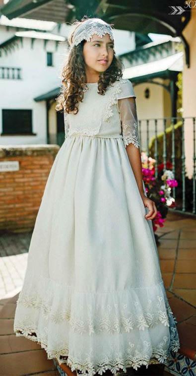 Vestidos de comunion estilo ibicenco