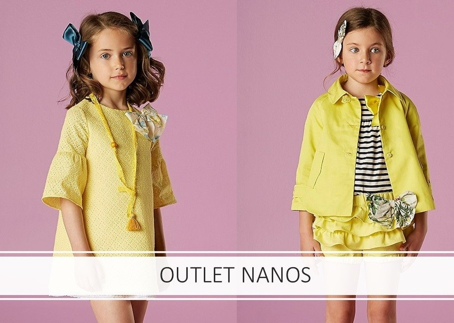 OUTLET NANOS KIDS WEAR