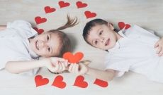 Make Valentine's Day special for your children with a party